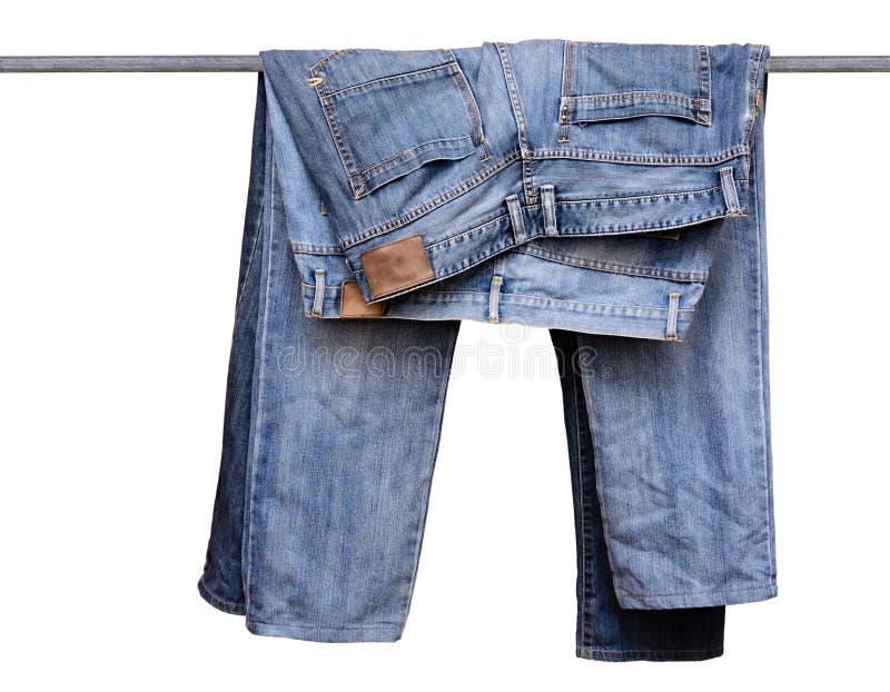 De blauwe broek van Jean royalty-vrije stock fotografie