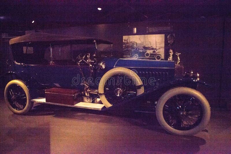 De blauwe Broodjes Royce Silver Ghost van 1914 stock afbeeldingen