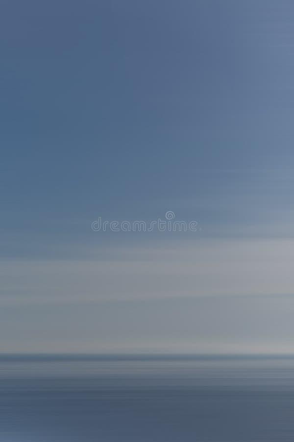 De blauwe en witte horizontale textuur van het motieonduidelijke beeld voor achtergrond vector illustratie
