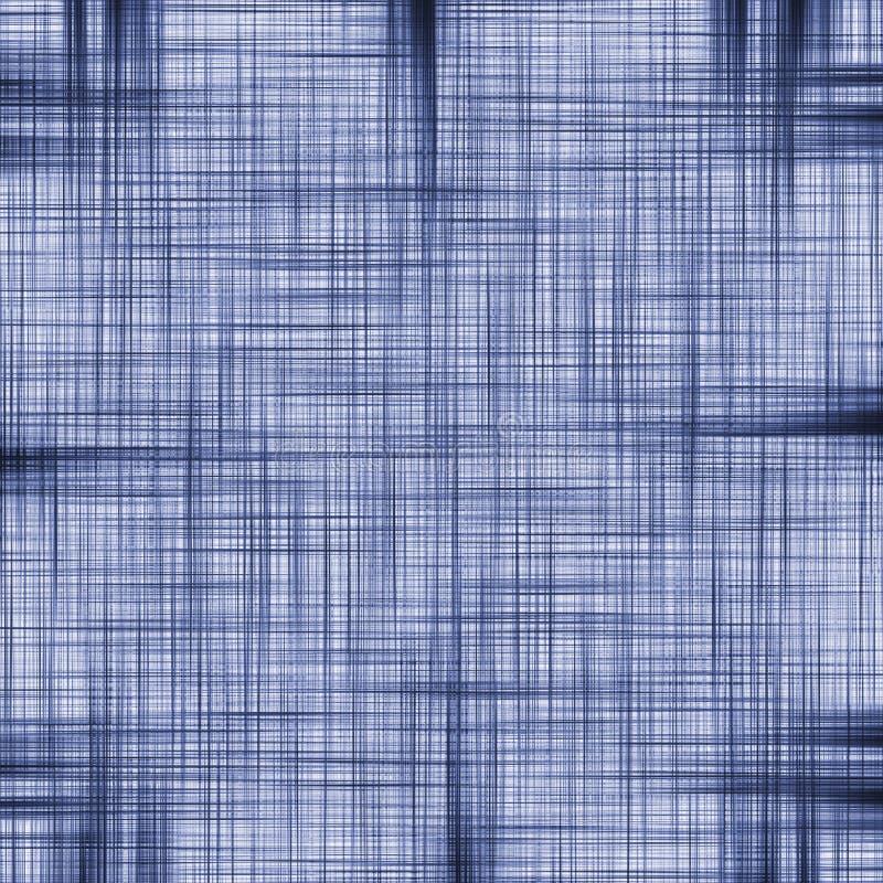 De blauwe en witte textuur van het jeansflard royalty-vrije illustratie