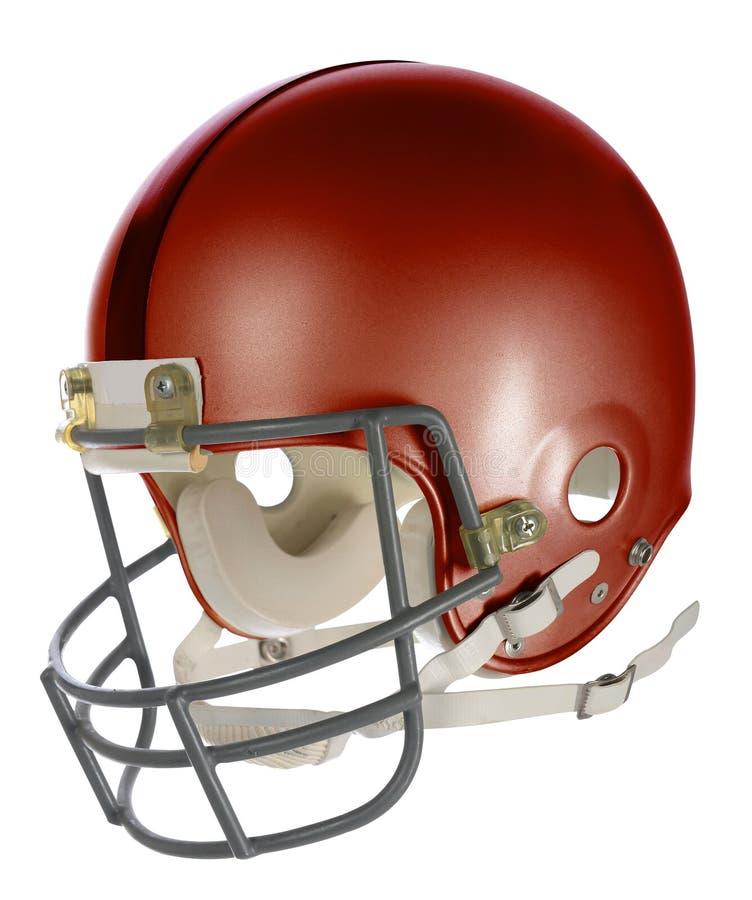 De blauwe Helm van de Voetbal royalty-vrije stock afbeelding