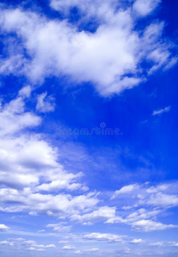 De blauwe hemel. royalty-vrije stock foto