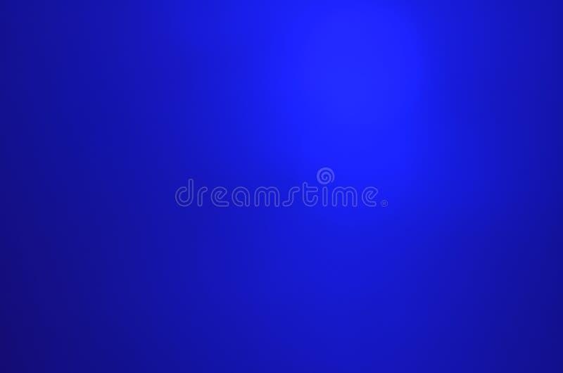 De blauwe lichte kleurengradiënt unfocused achtergrond royalty-vrije stock fotografie