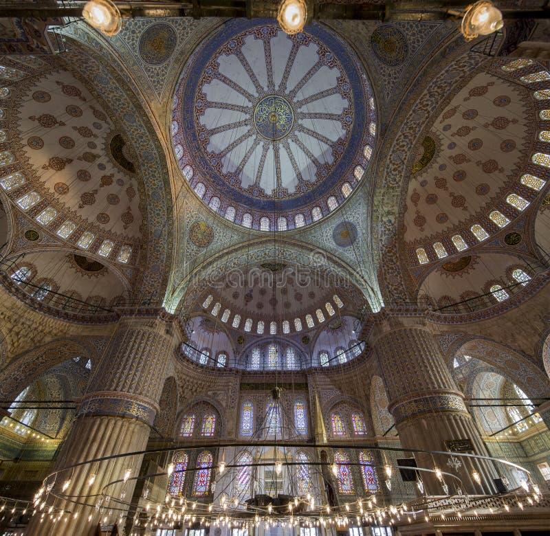 De blauwe Moskee stock afbeelding