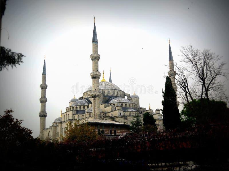 De blauwe Moskee in Istanboel royalty-vrije stock fotografie