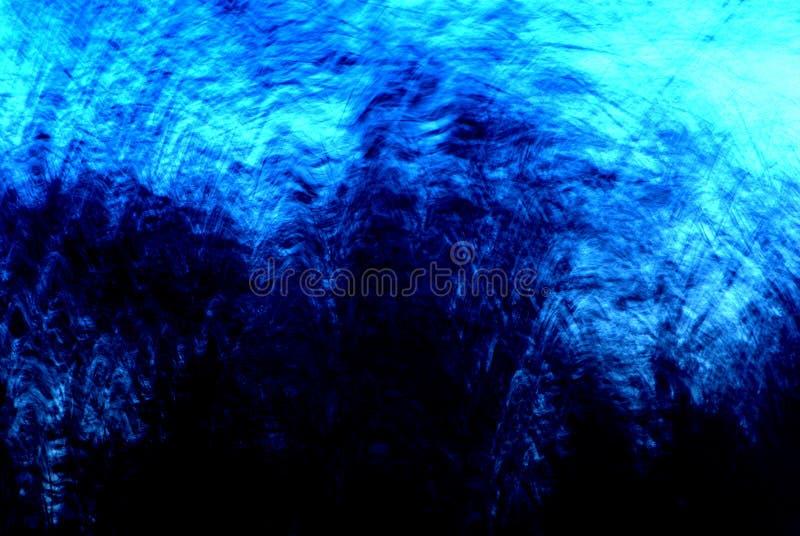 De blauwe Samenvatting van het Onweer royalty-vrije stock afbeeldingen