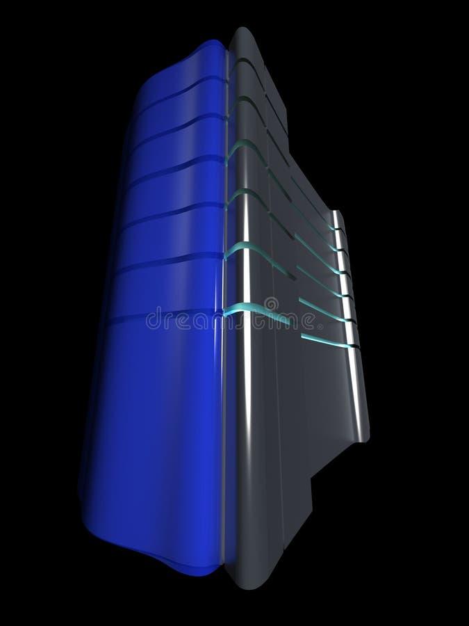 De blauwe Server van het Web vector illustratie