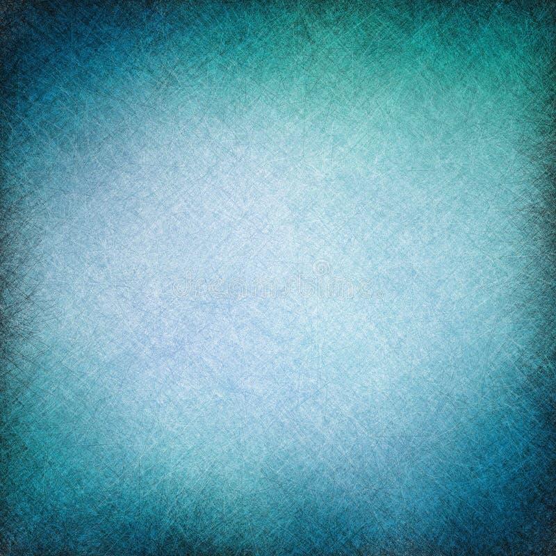 De blauwe textuur als achtergrond voor website of de grafische kunst ontwerpt element, gekraste lijntextuur stock illustratie