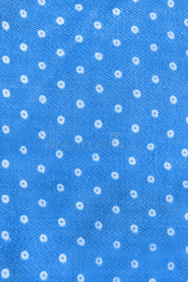 De blauwe Textuur van de Doek royalty-vrije stock afbeelding