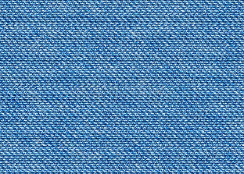 De blauwe textuur van denimjeans stock fotografie