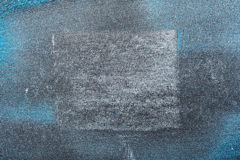 De blauwe Textuur van het Schoonheidsmiddelenpoeder met wit Vierkant royalty-vrije stock afbeelding
