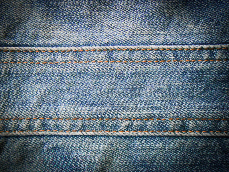 De blauwe textuur van Jean stock foto's