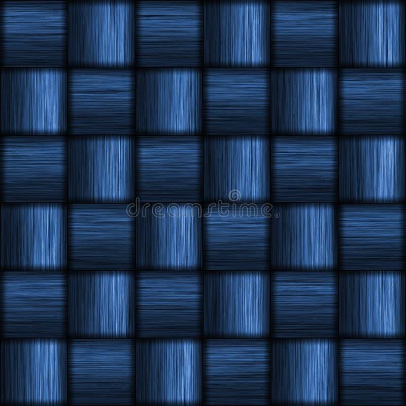 De blauwe Vezel van de Koolstof stock illustratie