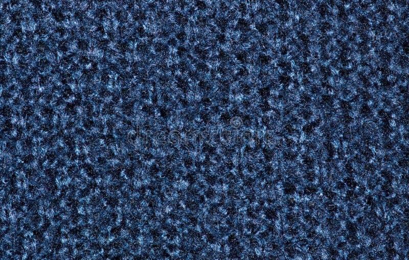De blauwe wol breit cardigantextuur stock afbeeldingen