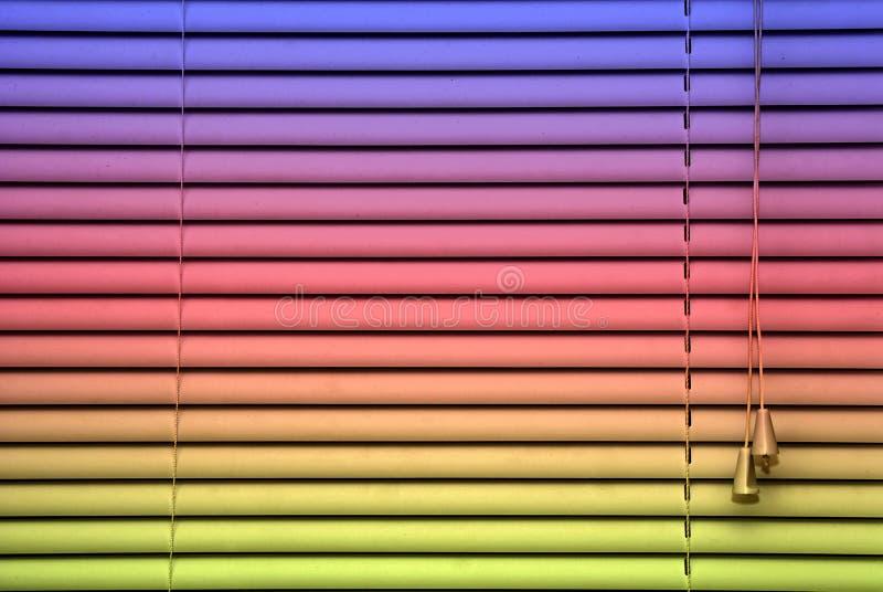 De blinde achtergrond van de regenboog royalty-vrije stock foto's