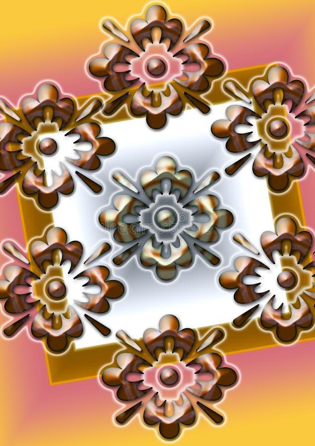 De bloem PINGELT royalty-vrije stock afbeelding