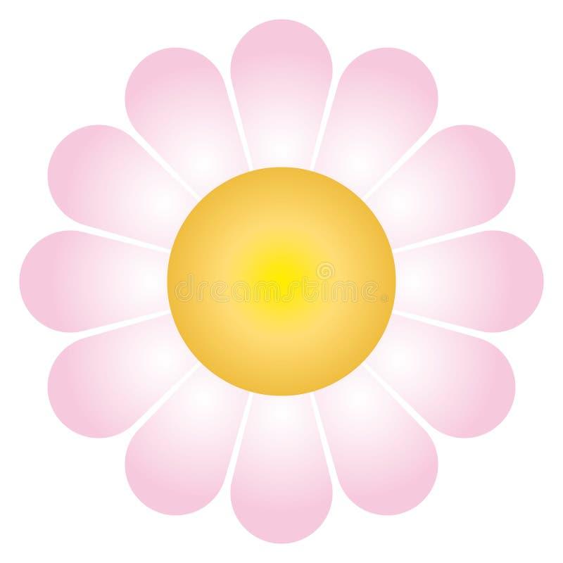 De bloem van Daisy (vector) vector illustratie