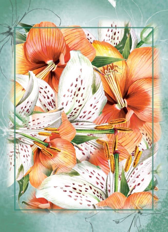 De bloem van de lente royalty-vrije illustratie