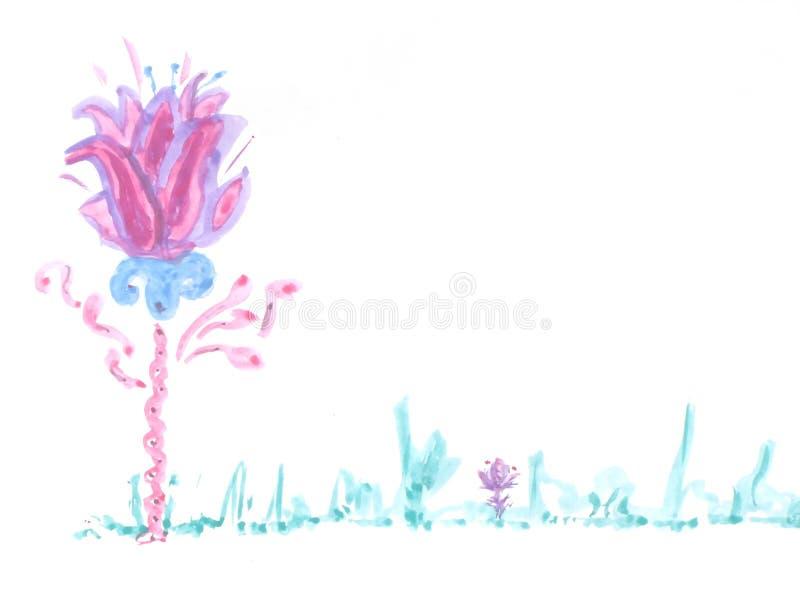 De bloem van Fairytale royalty-vrije illustratie