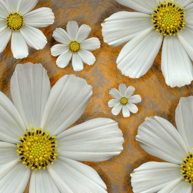 De bloem van Grunge royalty-vrije stock afbeelding