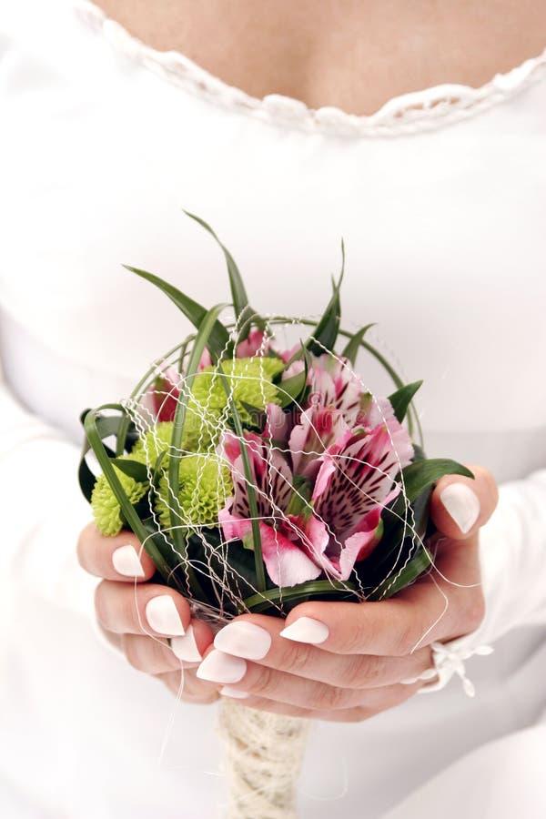 De bloem van het huwelijk royalty-vrije stock fotografie