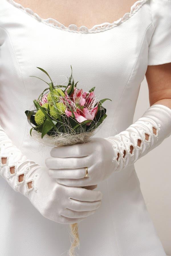 De bloem van het huwelijk royalty-vrije stock afbeelding