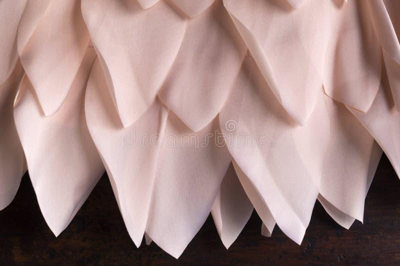 De Bloemblaadjes van de stoffenbloem royalty-vrije stock afbeelding