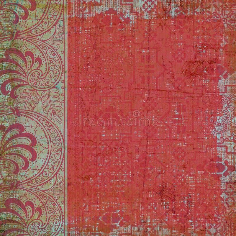 De bloemen Achtergrond van de Stijl van de Zigeuner Boheemse stock foto's