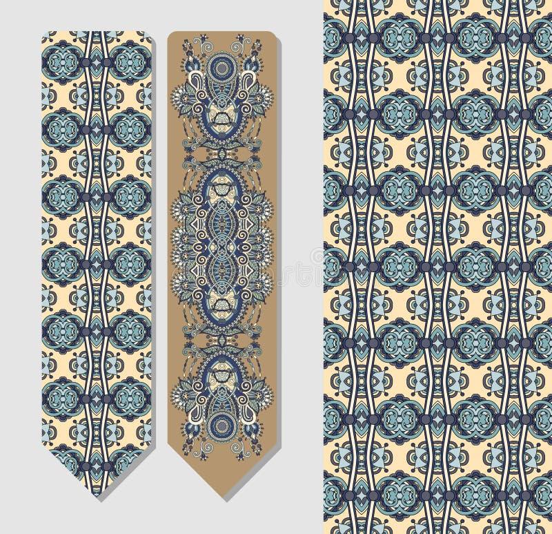 De bloemen decoratieve etnische referentie van Paisley vector illustratie