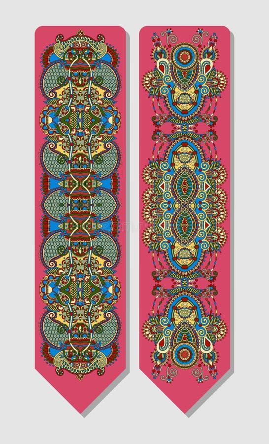 De bloemen decoratieve etnische referentie van Paisley voor vector illustratie
