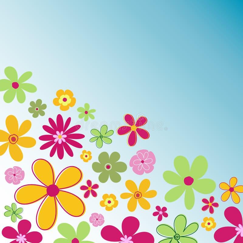 De bloemen van de zomer vector illustratie