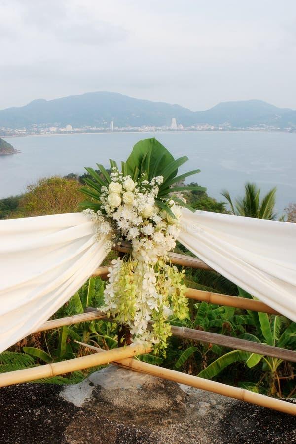 De bloemen van het huwelijk. stock afbeelding