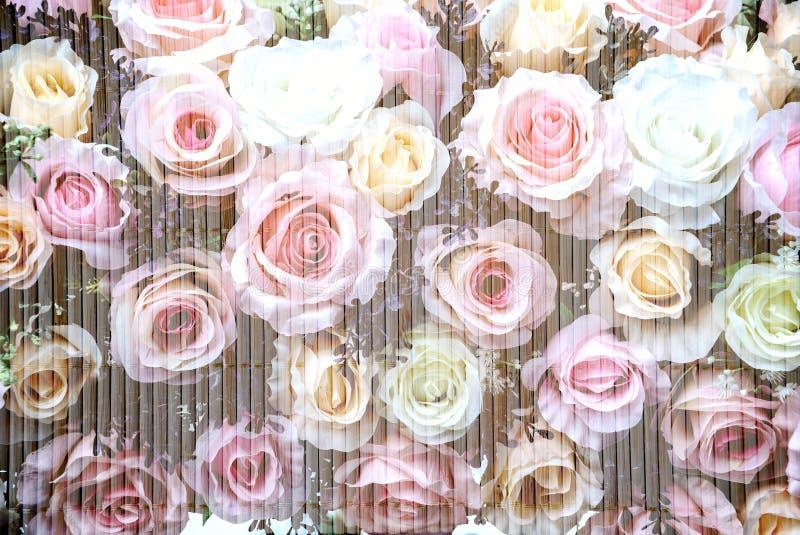De bloemen van het huwelijksboeket royalty-vrije stock foto