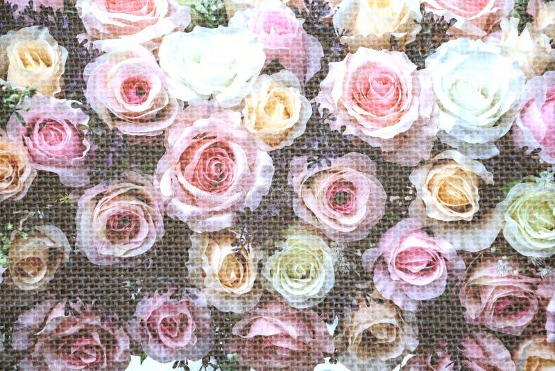 De bloemen van het huwelijksboeket stock afbeeldingen