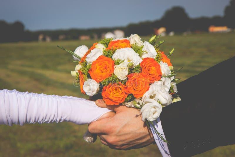 De bloemen van Weding stock fotografie