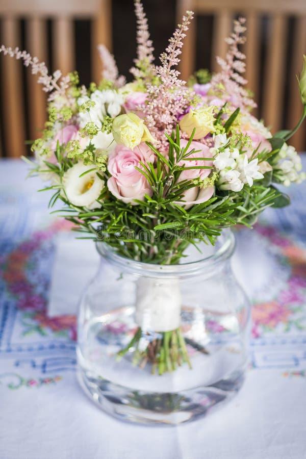 De bloemen van Weding stock foto's