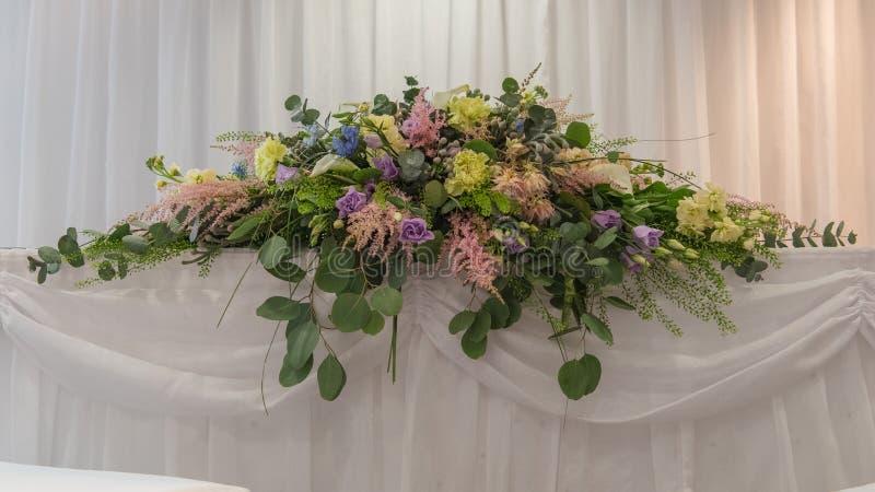 De bloemen van Weding stock afbeeldingen