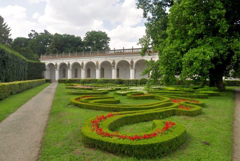 De bloemenachtergrond van de bloem Garden royalty-vrije stock afbeeldingen