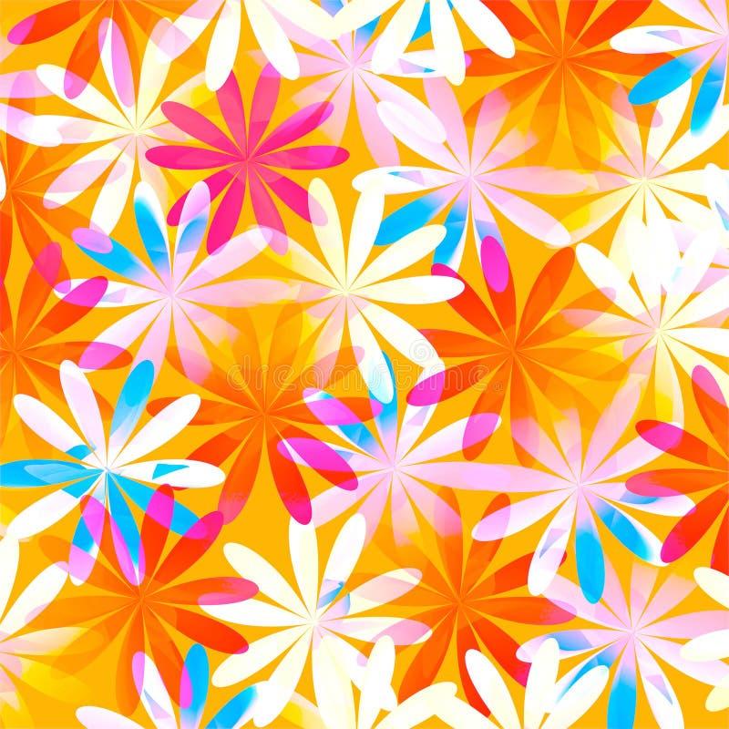 De Bloemenachtergrond van de lente royalty-vrije illustratie