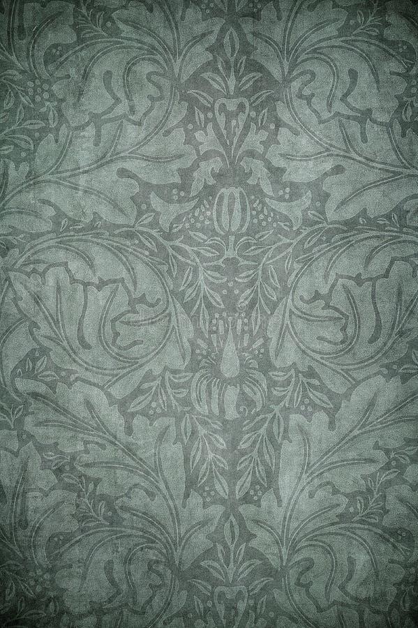 De bloemenachtergrond van Grunge met ruimte voor tekst stock illustratie