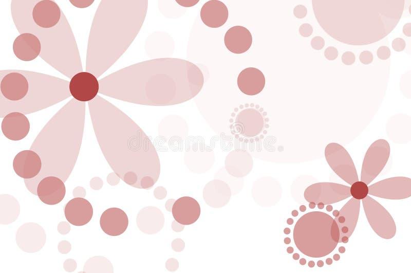 De bloemenachtergrond van mod. vector illustratie