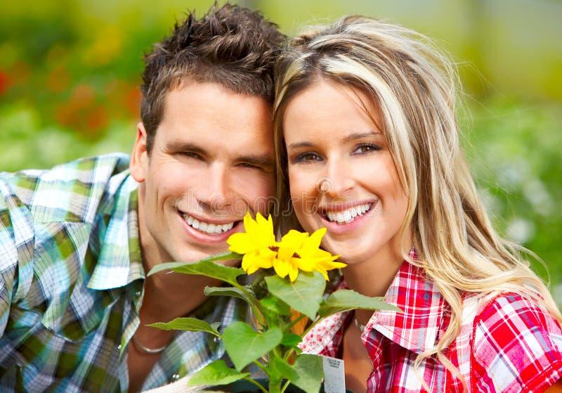De bloemisten van mensen stock afbeeldingen