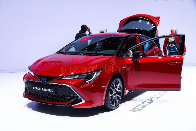 De bloemkroon van Toyota royalty-vrije stock afbeeldingen