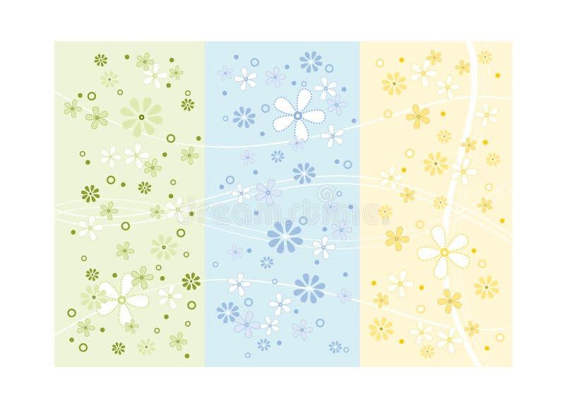 De bloemontwerp van de lente vector illustratie