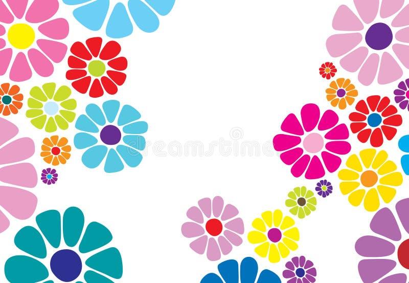 De bloempatroon van Daisy stock illustratie