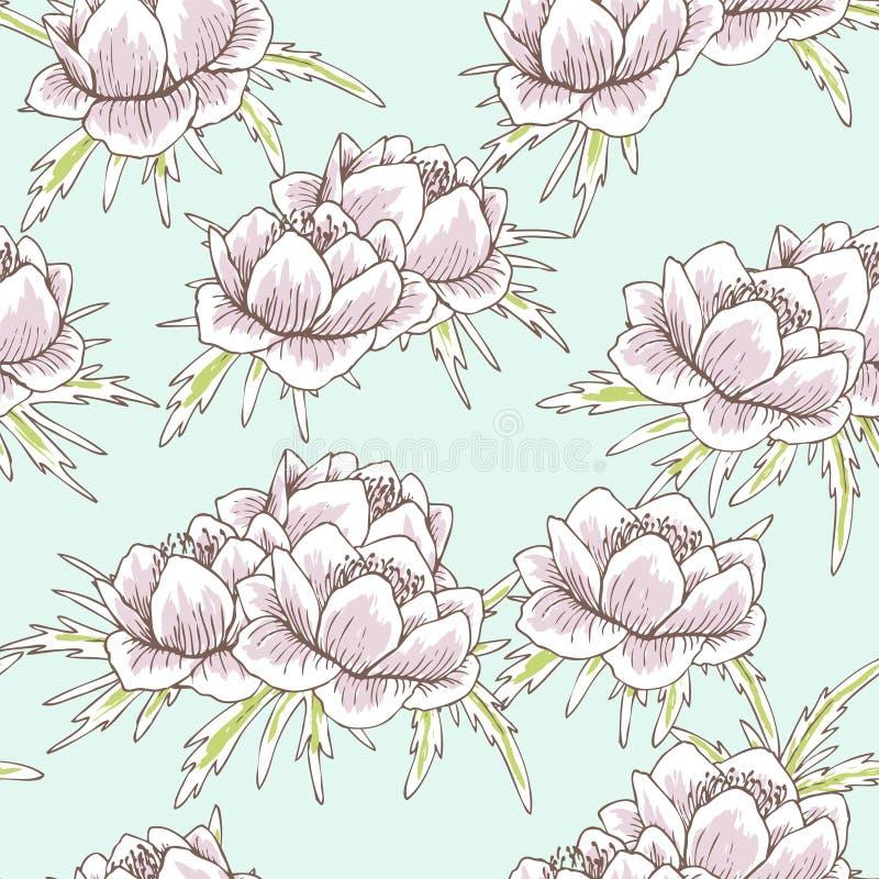 De bloempatroon van de bol vector illustratie
