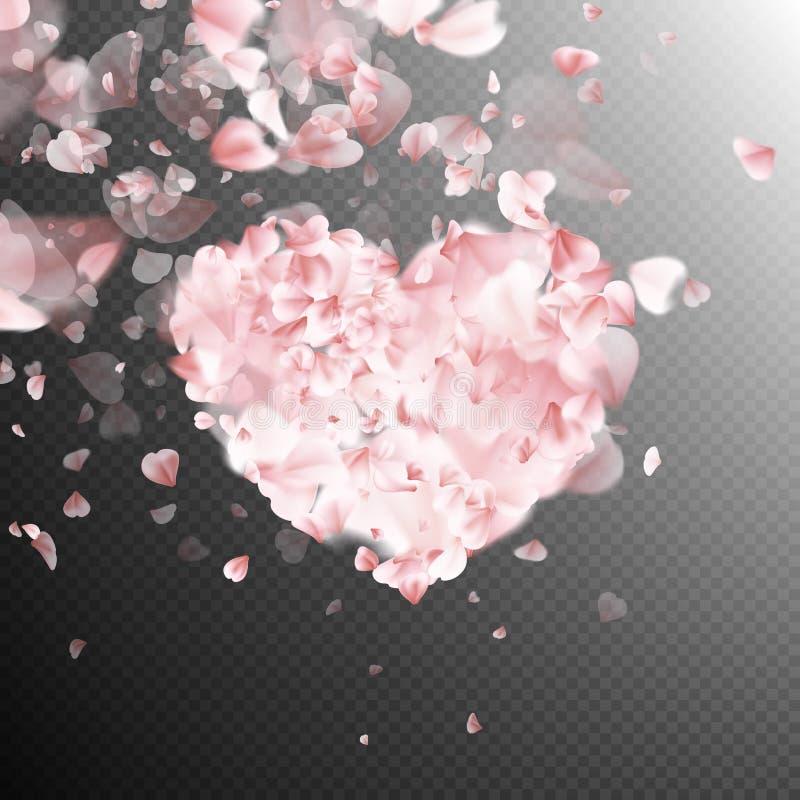 De bloesem van bloembloemblaadjes Eps 10 stock illustratie