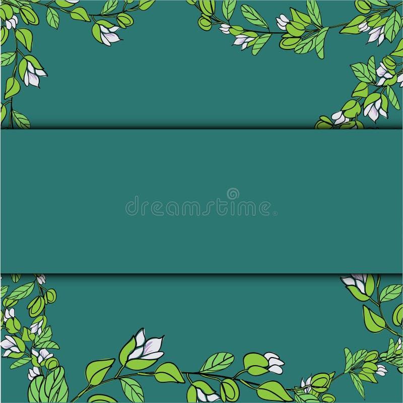 De Bloesem van Fiji, Illustratie van Tagimaucia-Bloem of Medinilla Waterhousei De Nationale Bloem van Fiji stock illustratie