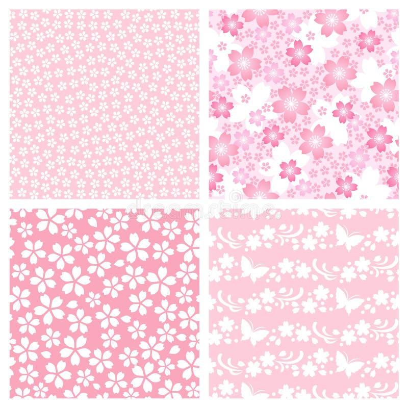De bloesempatroon van de kers