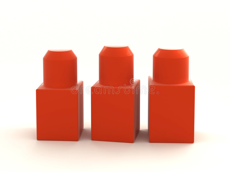 De blokken van het stuk speelgoed stock fotografie